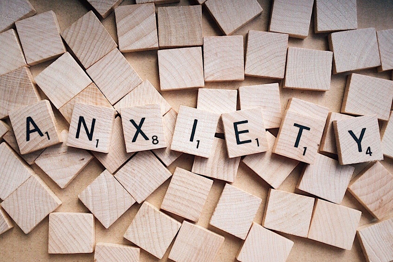 anxious or anxiety
